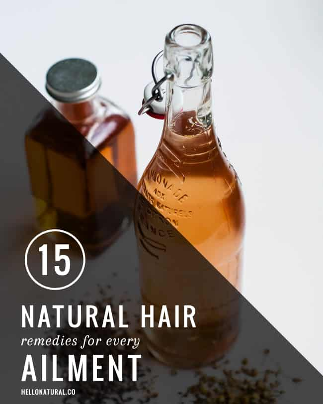 15 Natural Hair Remedies for Every Ailment | HelloGlow.co