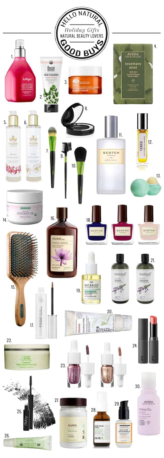 30 Natural Beauty Gift Buys | HelloGlow.co