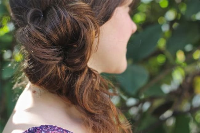 5 Faves: Easy Updos for Holiday Parties | Hello Glow
