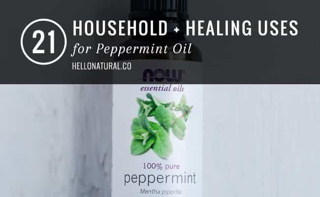 21 Uses for Peppermint Oil | HelloGlow.co