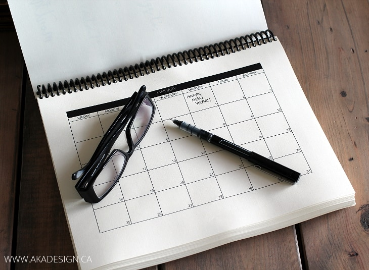 Diy Editorial Calendar : Diy calendars planners for helloglow