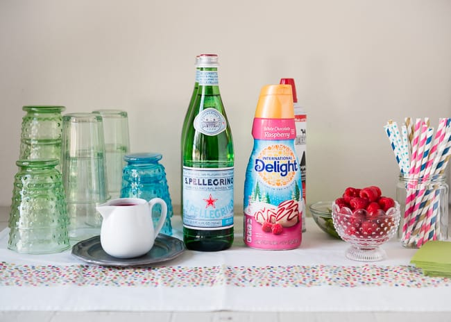 DIY Raspberry Cream Soda Bar | HelloGlow.co
