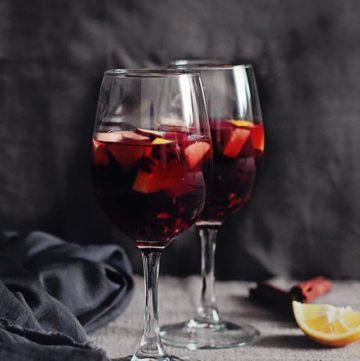 Pomegranate Sangria Recipe   HelloGlow.co