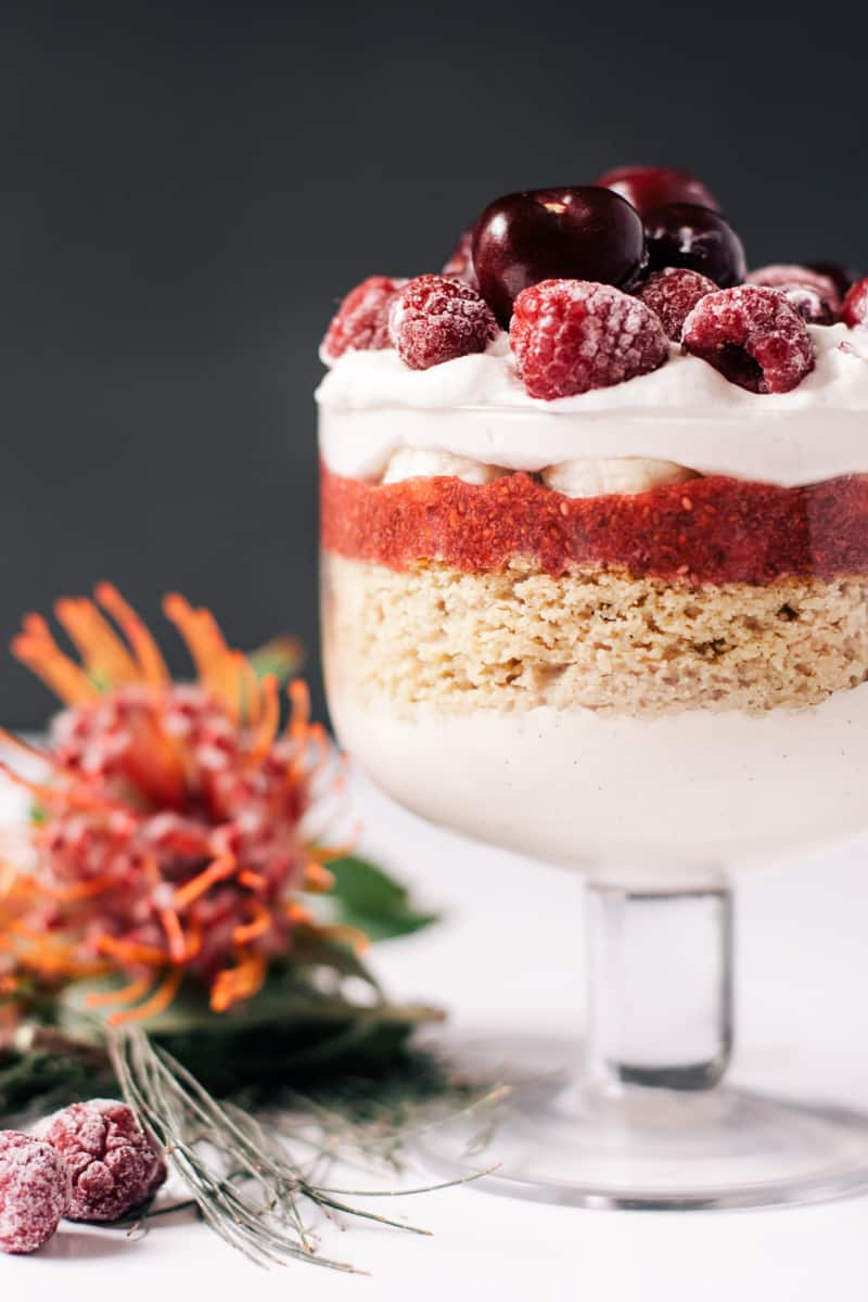 Healthy Holiday Trifle | HelloGlow.co