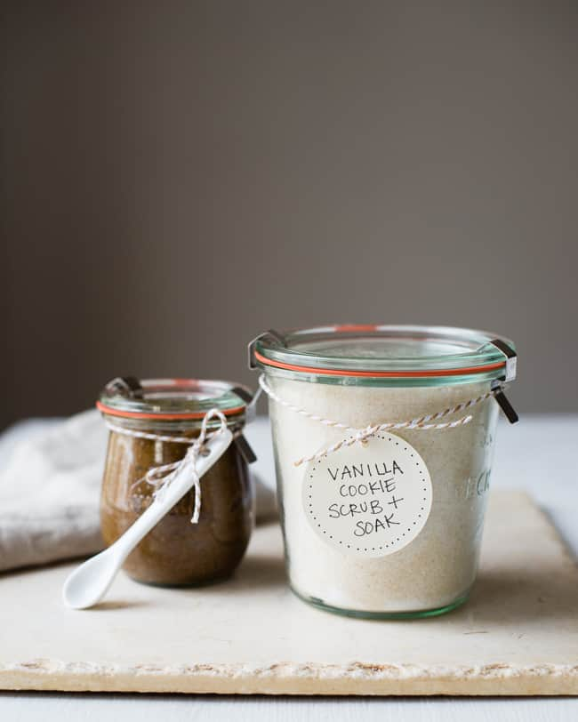 Vanilla Sugar Cookie Scrub + Soak | HelloGlow.co