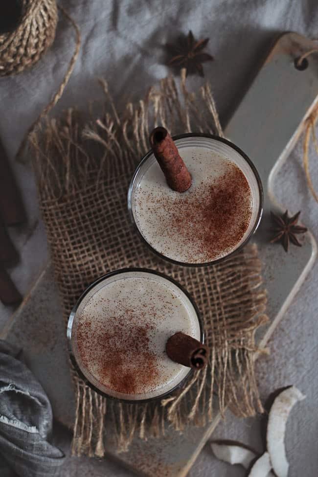 Coconut Nog Recipe | HelloGlow.co