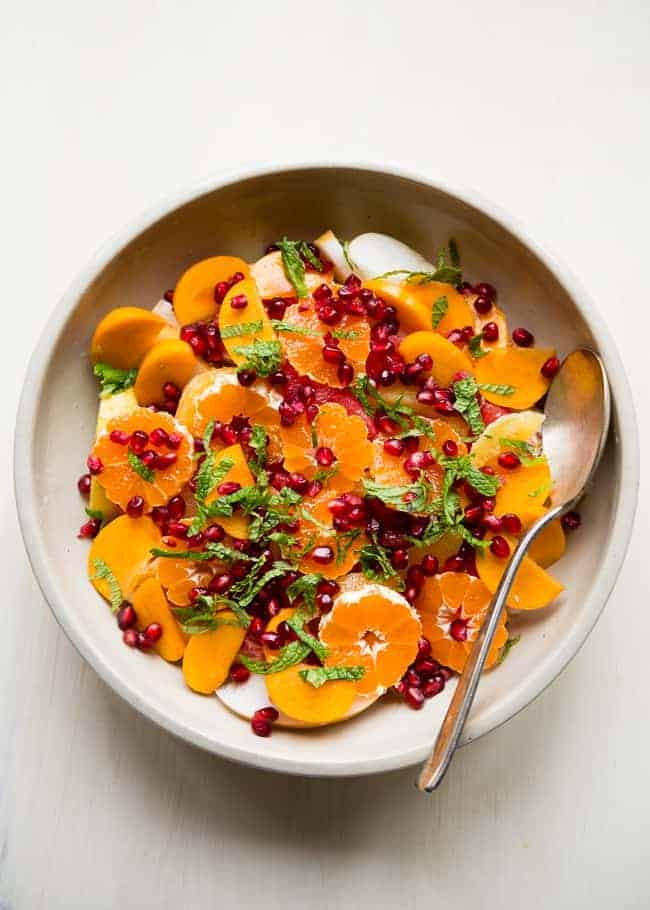 tempted by the fruit of another healthy fruit salad for breakfast