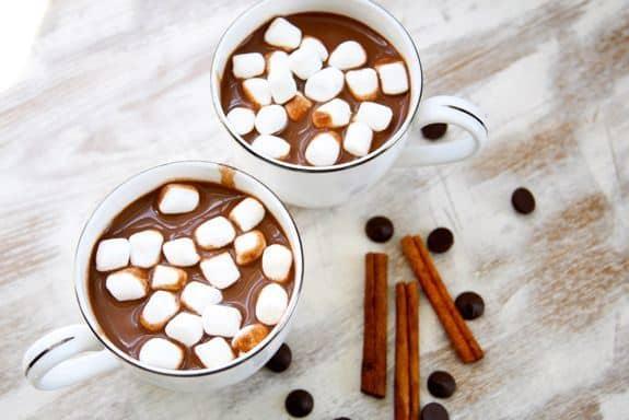 Homemade Dairy-Free Hot Chocolate