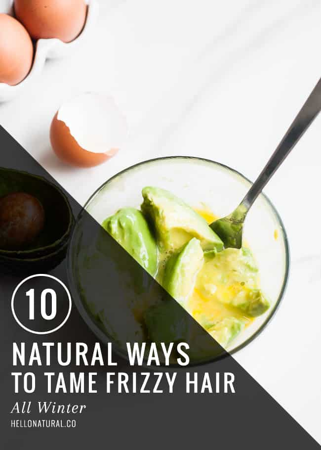 10 Natural Ways to Tame Frizzy Hair | HelloGlow.co