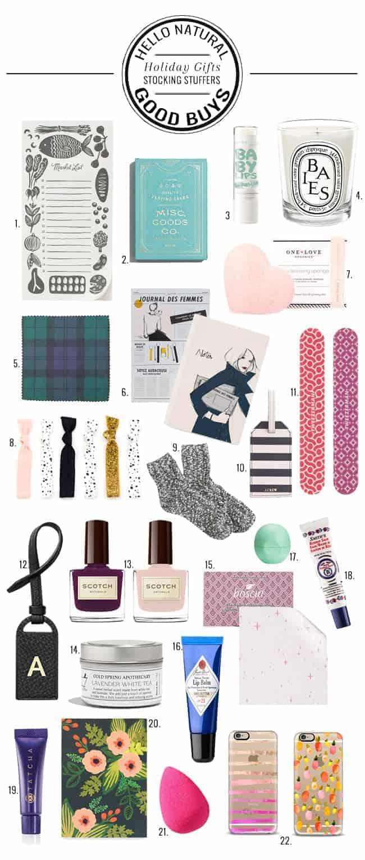 Stocking Stuffer Gift Guide | HelloGlow.co