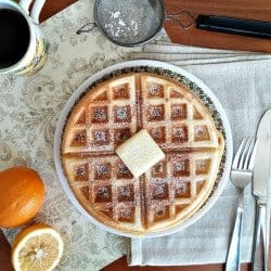 15 Waffle Recipes Worthy of Christmas Morning