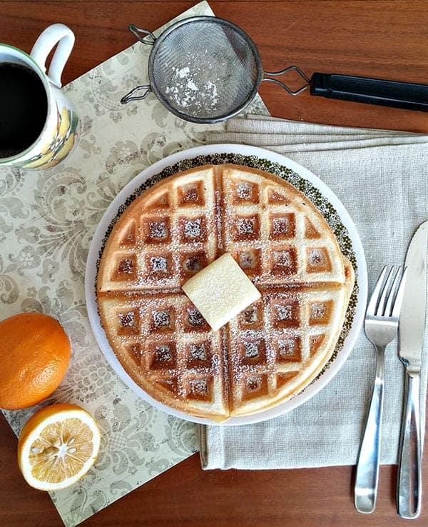15 Wild + Wonderful Waffle Recipes