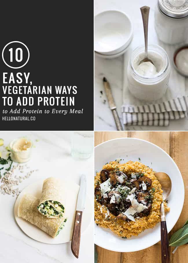 10 Vegetarian Ways to Add Protein
