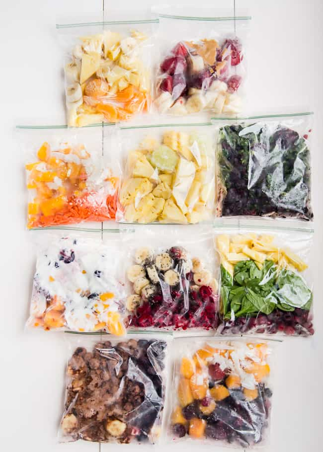 Make Smoothie Freezer Packs | 10 Smoothie Hacks