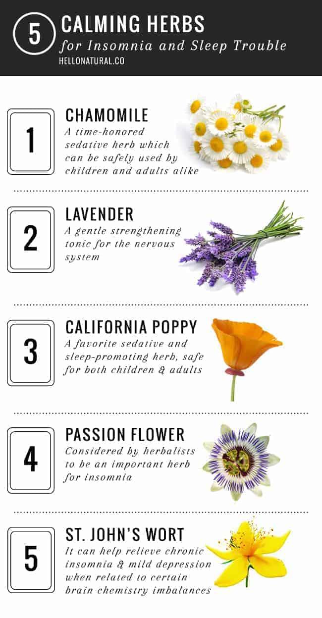 Calming herbs for children