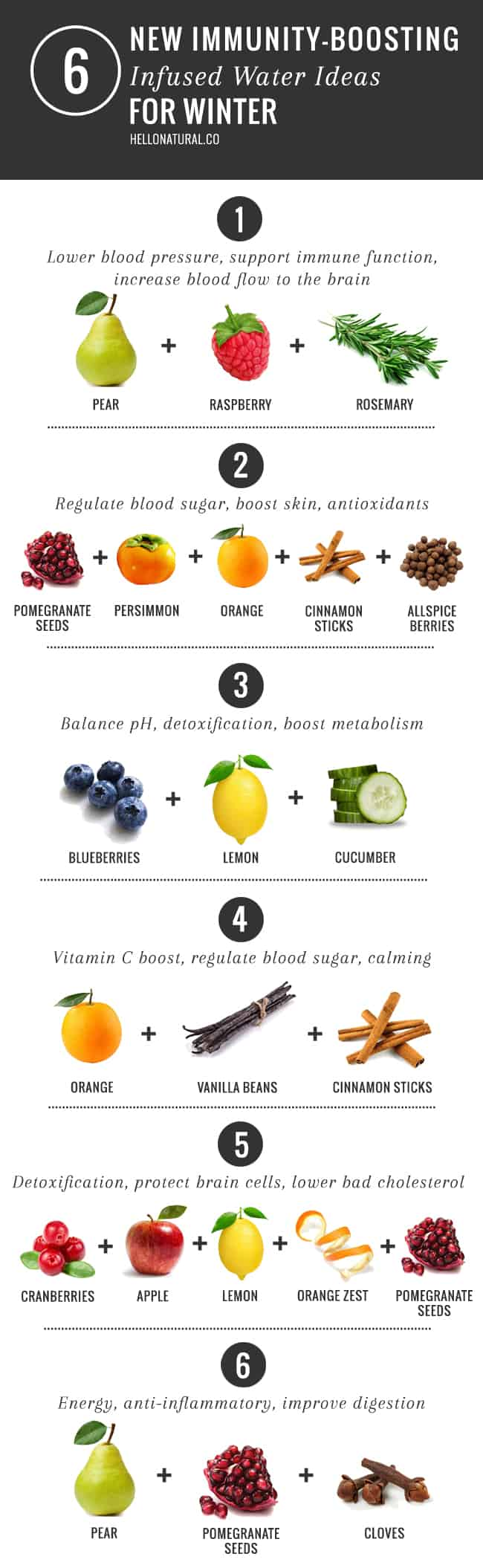 6 Immune Boosting Infused Water Ideas For Winter Hello Glow