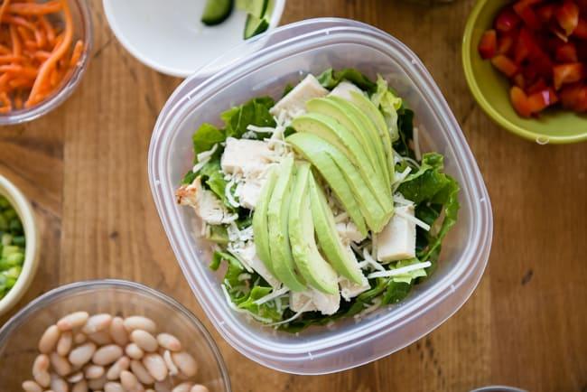 Cara Mengemas Salad Untuk Minggu Ke-11