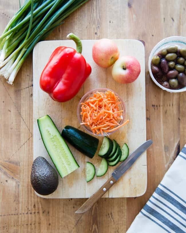 Cara Mengemas Salad Untuk Minggu Ke-3