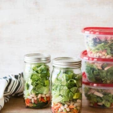 How To Pack Salads For The Week-7