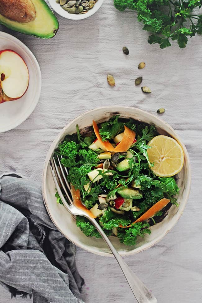 Massaged Kale Salad | 3-Day Detox | HelloGlow.co