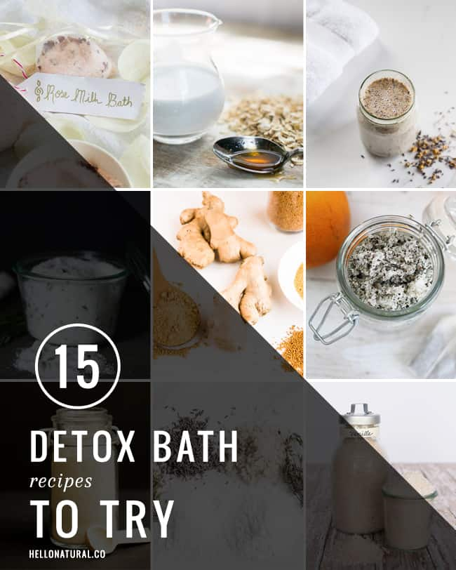 15 Detox Bath Recipes | HelloGlow.co