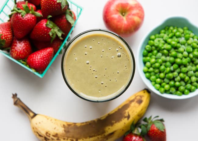 Green Pea Smoothie | 5 Veggie Smoothie Recipes