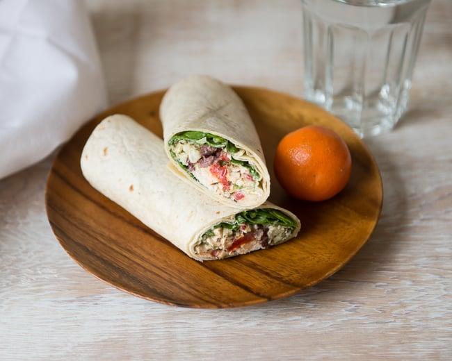 Chicken Salad Wrap   5-Day Lunch Plan