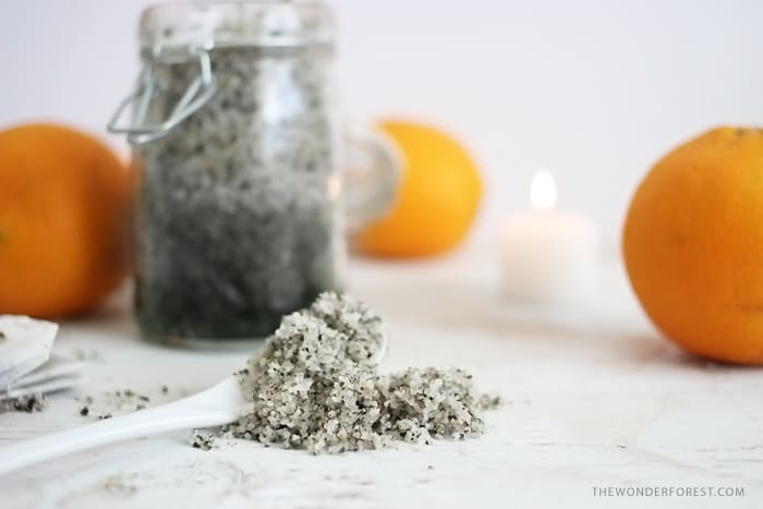 Orange Green Tea Bath Soak | 15 Detox Bath Recipes to Try