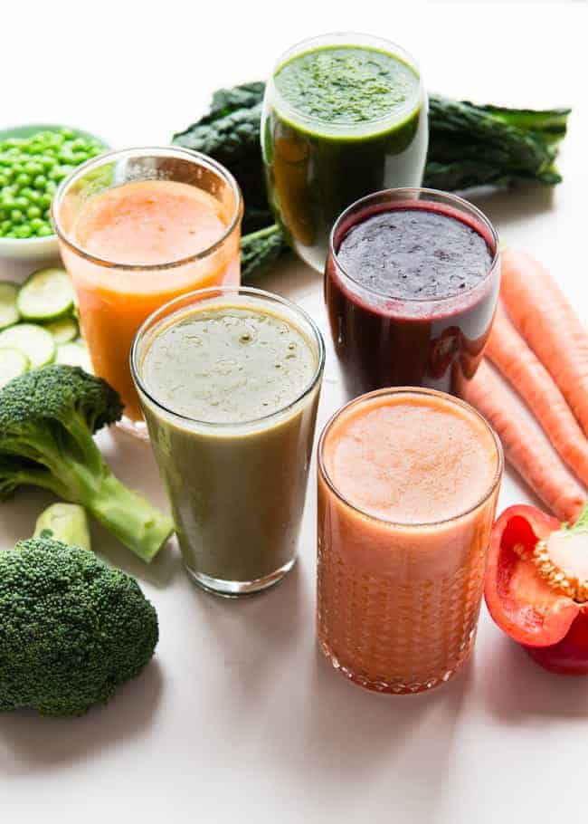 5 Vitamin-Packed Veggie Smoothie Recipes | HelloGlow.co