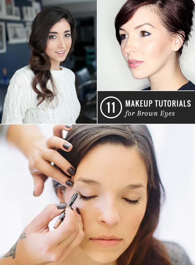 11 Make-up Tutorials for Brown Eyes