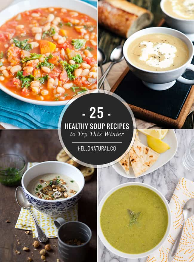 25 Healthy Soup Recipes
