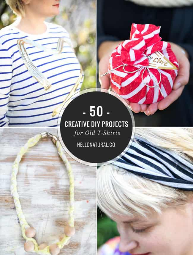 50 Creative Diy Projects For Old T Shirts Hello Glow