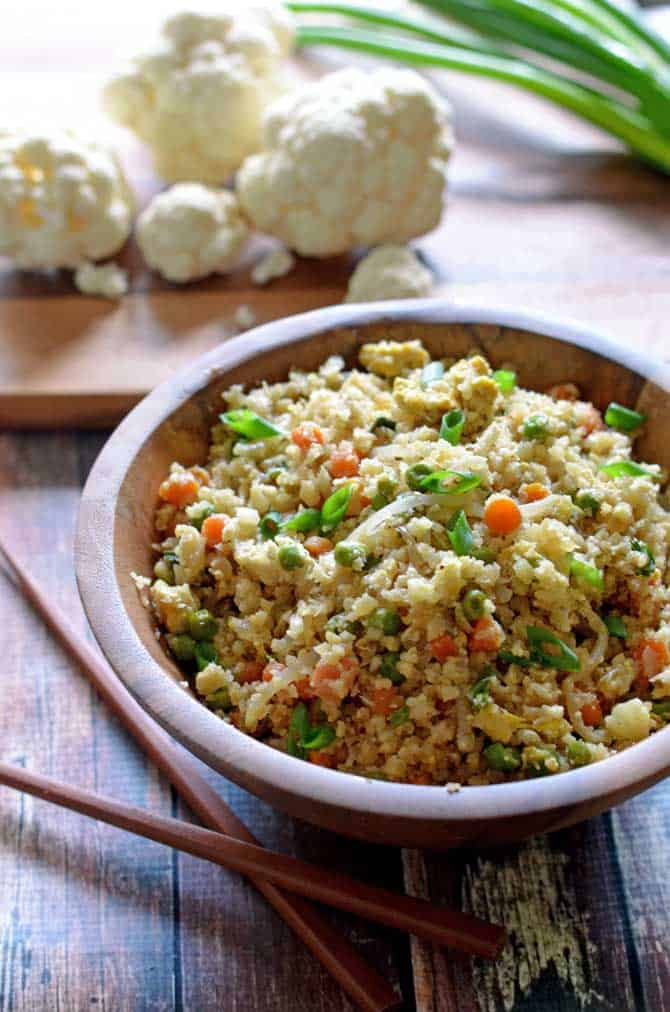 Cauliflower Fried Rice from Host the Toast