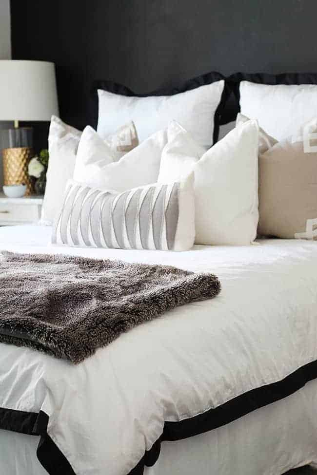How To Style A Bed 3 Ways Hello Glow