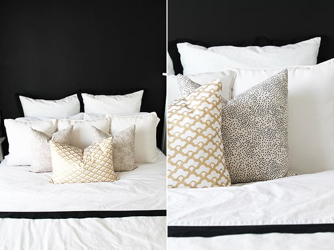 Make a Pillow Headboard
