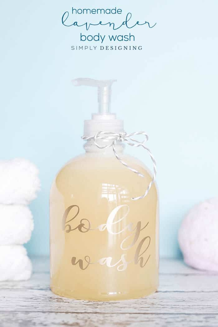 Lavender Body Wash | 11 Homemade Body Wash Recipes