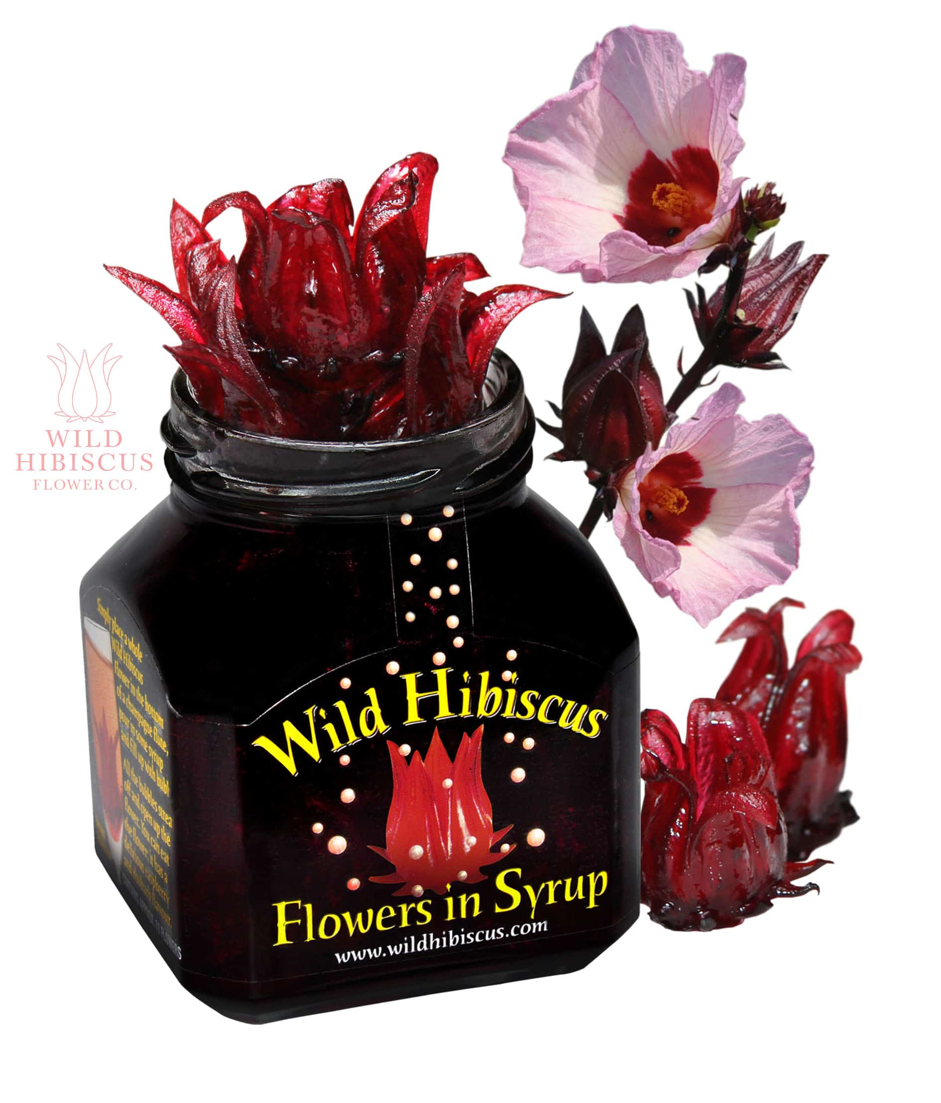 Enter to win a wild hibiscus flower prize pack ends 32315 blog prize a wild hibiscus flower co prize pack of edible goodies arv 55 that includes wild hibiscus flowers in syrup wild hibiscus flowers pyramid salt izmirmasajfo
