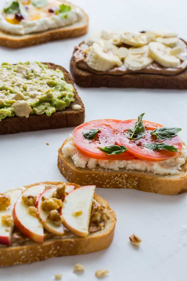 5 Tasty Healthy Toast Recipes to Try - Hello Veggie