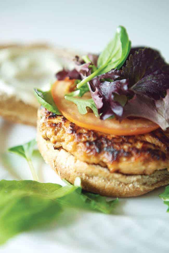 Hoisin Salmon Burger | 25 Healthy Salmon Recipes