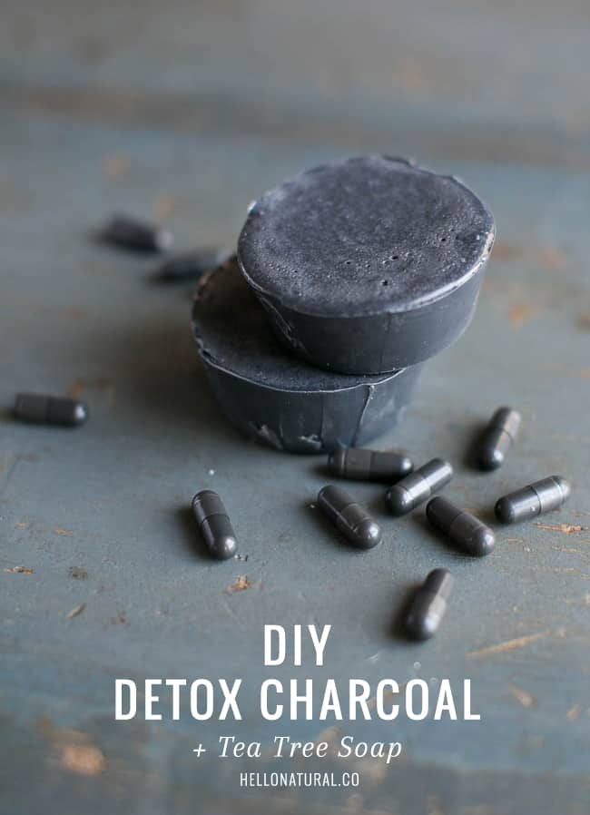 Detox Charcoal and Tea Tree Soap