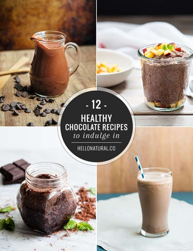 12 Healthy Chocolate Recipes