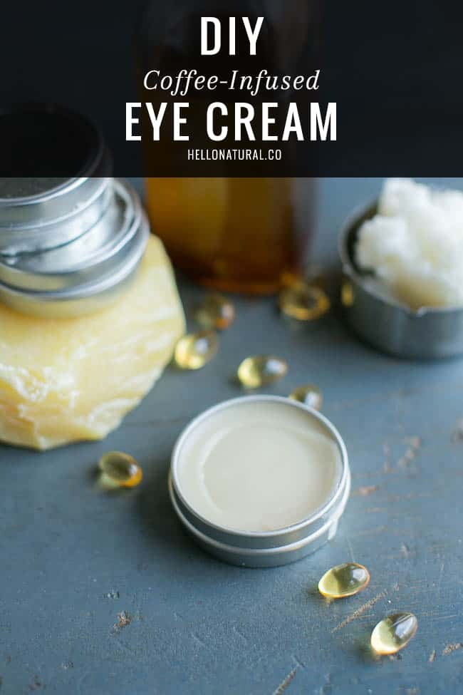 DIY Coffee-Infused Eye Cream