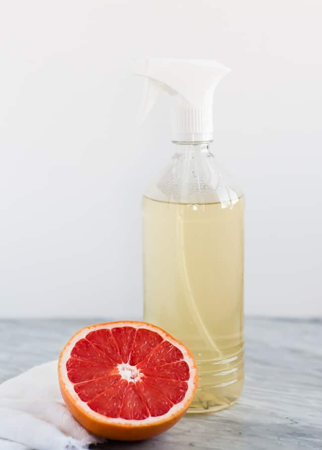 Naturally antibacterial all-purpose cleaner
