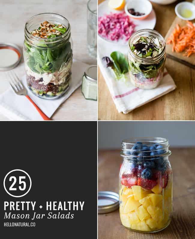 25 Mason Jar Salads