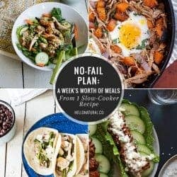 No-Fail Plan: A Week of Meals from 1 Slow-Cooker Recipe