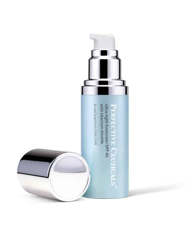 Perfective Ceuticals' Ultra-light Sunscreen | HelloGlow.co