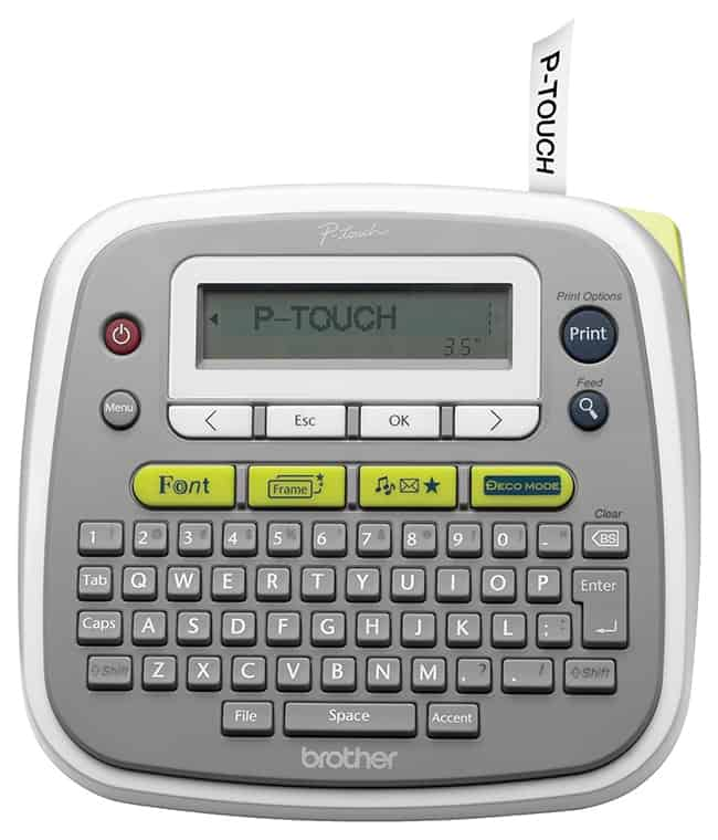 New Epson P-Touch Label Maker Giveaway | HelloGlow.co