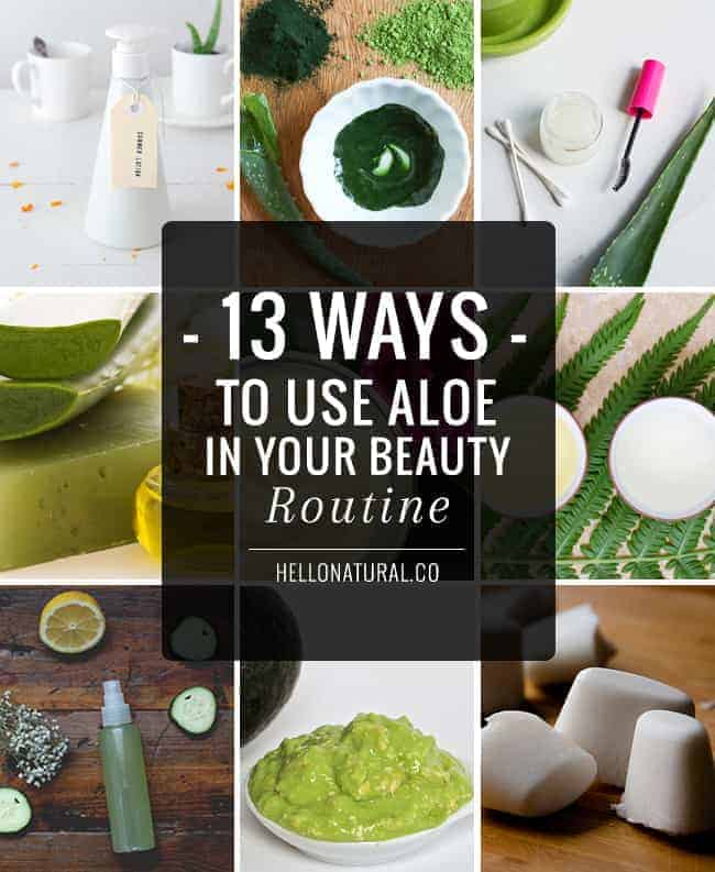 13 Ways to Use Aloe In Your Beauty Routine | Hello Glow