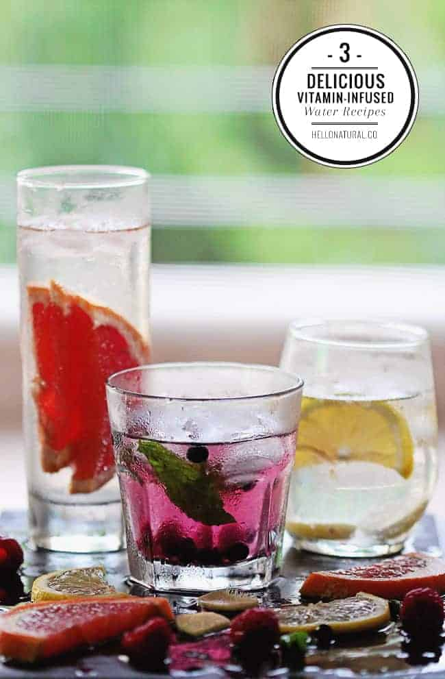 3 Infused Water Recipes
