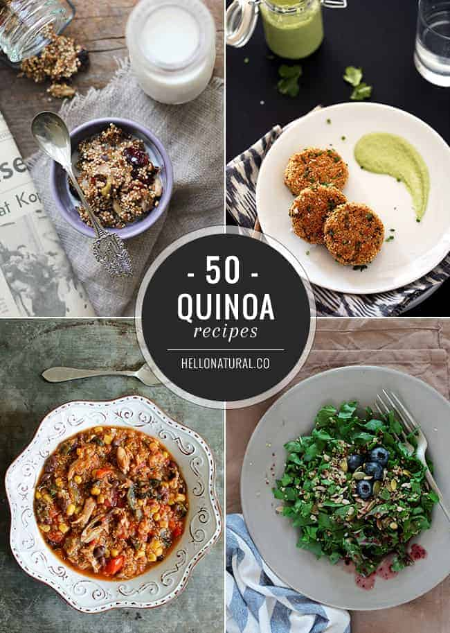 50 Healthy Quinoa Recipes | Hello Glow